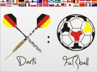 Fußball oder Darts