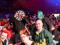 Dartfans bei den German Darts Open
