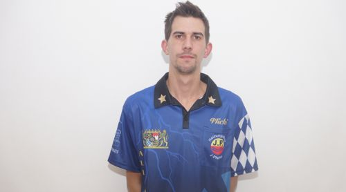 Dartspieler Michael Unterbuchner