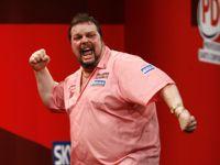 Peter Manley beim Grand Slam of Darts