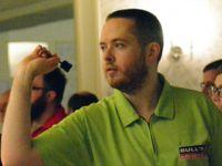 Dartspieler Steve Lennon