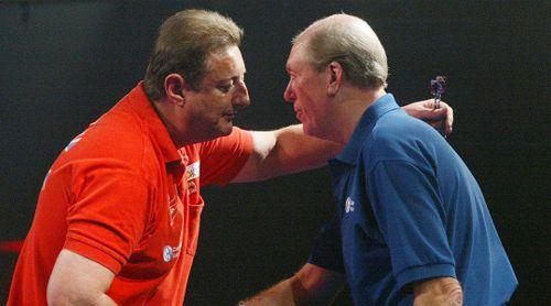 Eric Bristow und John Lowe