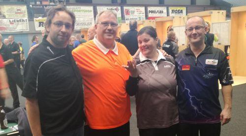 Florian Ludwig, Frank Kunze, Irina Armstrong und Jens Ziegler