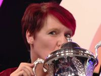 Darts Weltmeisterin Lisa Ashton