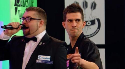 Michael Unterbuchner Dartspieler im Fokus