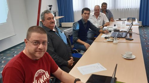 Das Präsidium des Deutschen Dart Verband 2019