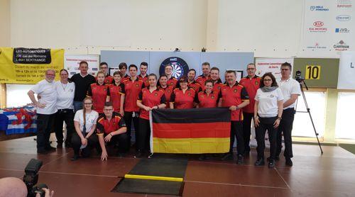 Deutsche Darts-Nationalmannschaft