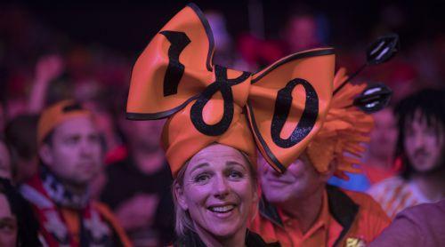 Holländischer Fan in Rotterdam