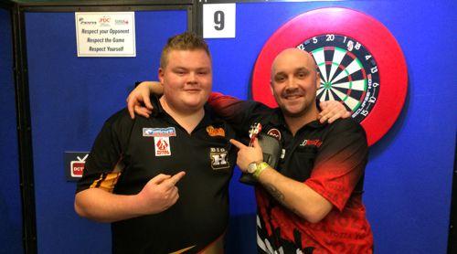 Harry Ward und Jamie Hughes