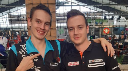 Ricardo Pietreczko (links) und Kevin Knopf