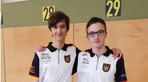Robin Radloff und Mika Große-Stoltenberg
