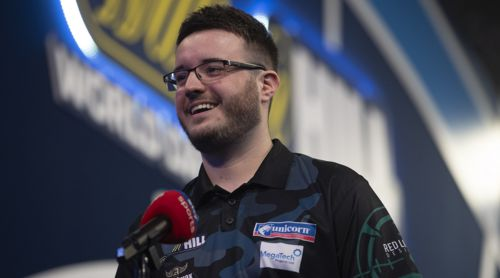 Adam Hunt im Interview mit Sky Sport Darts