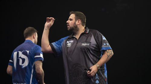 Adrian Lewis in alter Form gegen Ross Smith