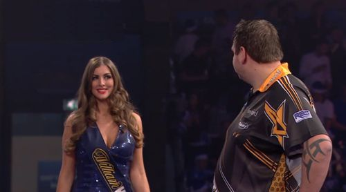 Darts WM 2016 Adrian Lewis