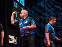 Andy Boulton wirft Daryl Gurney aus dem Turnier