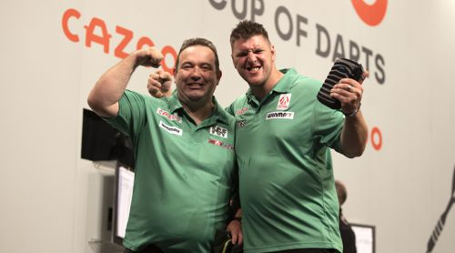 Brendan Dolan und Daryl Gurney: Team Nordirland