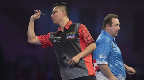 PDC Darts WM Yuanjun Liu