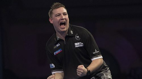 Chris Dobey Darts Weltmeisterschaft