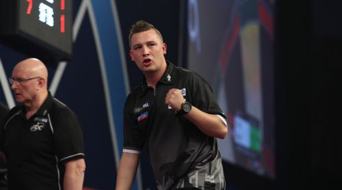 Chris Dobey PDC Darts WM