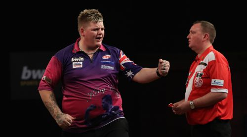 Corey 'The King' Cadby besiegte Lakeside Weltmeister Glen Durrant