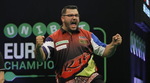 Cristo Reyes Unibet European Darts Championship