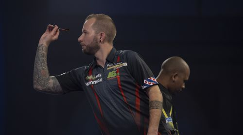 Danny Noppert gewinnt trotz schwacher Leistung gegen Cameron Carolissen