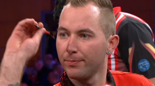 Danny Noppert besiegt Mensur Suljovic beim Grand Slam of Darts
