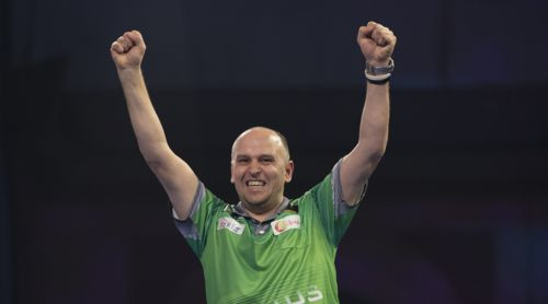 Darius Labanauskas darts player