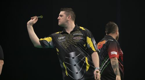 Daryl Gurney und Michael Smith