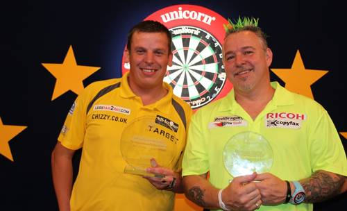 Dave Chisnall und Peter Wright