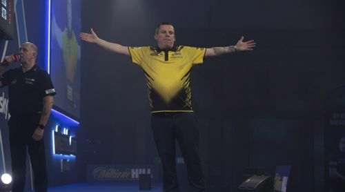 Dave Chisnall in voller Pracht