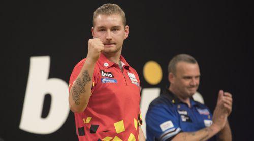 Dimitri Van den Bergh besiegt Mark McGeeney