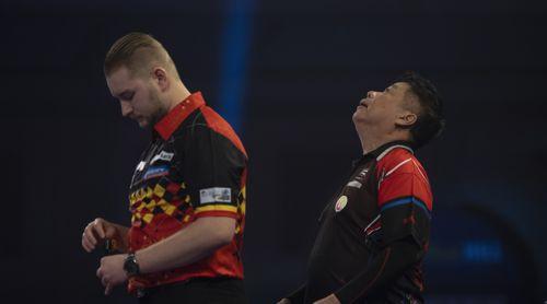Dimitri Van den Bergh gewinnt das Generationenduell gegen Paul Lim