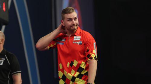 Dimitri Van den Bergh spielte im Viertelfinale eine starke Partie und muss dennoch die Heimreise antreten