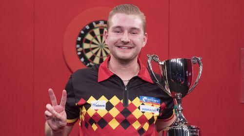 Dimitri Van den Bergh ist zum zweiten Mal in Folge Junioren-Weltmeister