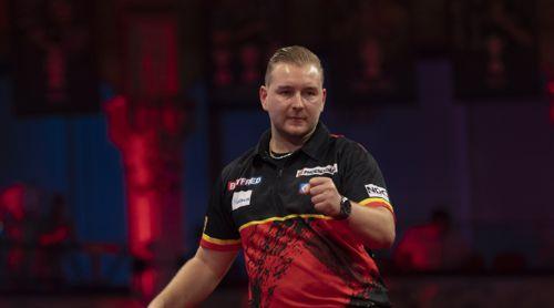 Dimitri Van den Bergh möchte 2021 den World Matchplay-Titel verteidigen