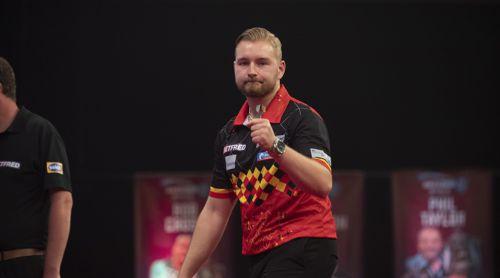 Dimitri Van den Bergh überzeugend beim World Matchplay