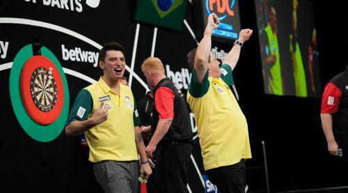 Diogo Portela und Bruno Rangel bildeten Team Brasilien