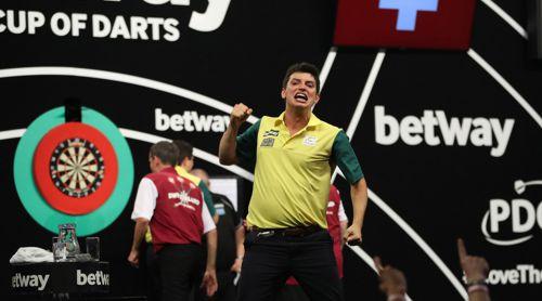 Diogo Portela nahm am Qualifikationsturnier für die Darts WM 2018 teil