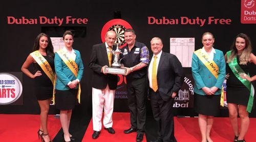 Gary Anderson verteidigt Dubai Masters