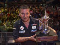 Gary Anderson ist Titelverteidiger der Dubai Darts Masters