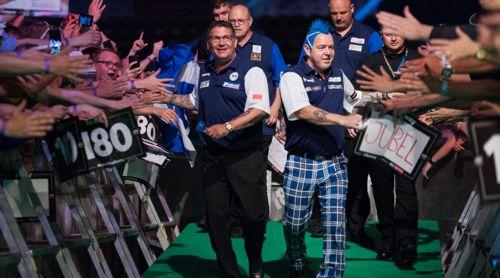 Gary Anderson und Peter Wright spielen für Schottland