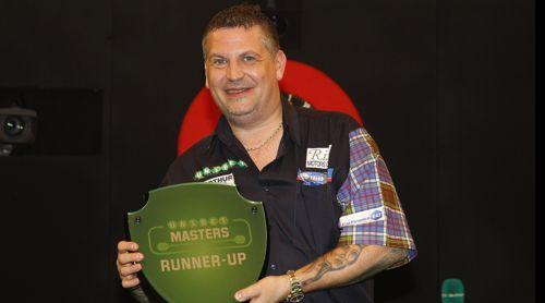 Gary Anderson zeigte sich mit dem zweiten Platz beim Masters zufrieden