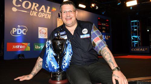 Gary Anderson gewinnt mit den UK Open sein erstes Major TV-Turnier seit zwei Jahren