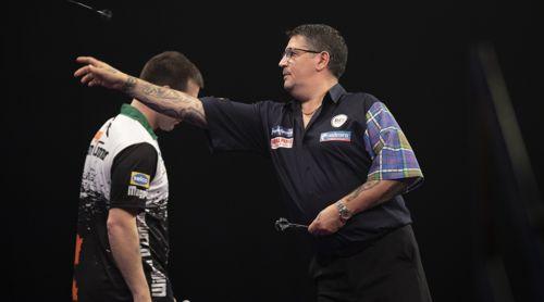 Gary Anderson und William O'Connor Grand Slam of Darts