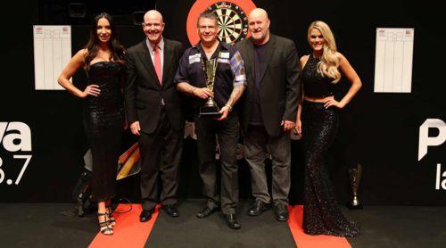 Gary Anderson gewann 2017 unter anderem die Perth Darts Masters