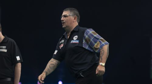 Gary Anderson in Eile