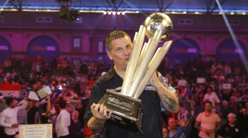 Darts Weltmeister Gary Anderson