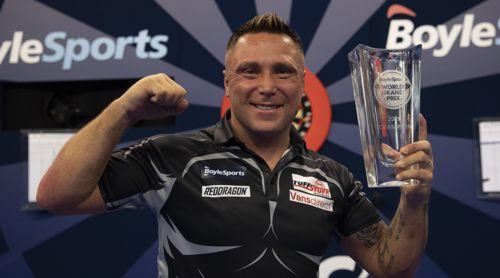 Gerwyn Price World Grand Prix Champion