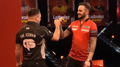 Weltmeister Gerwyn Price besiegt Joe Cullen